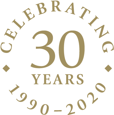 Celebrating 30 years - 1990 to 2020